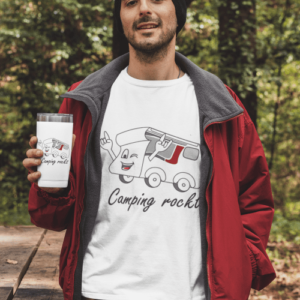 """""""Camping rockt!"""" Thermobecher"""